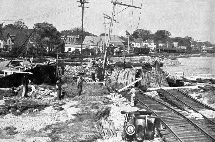 Great Hurricane Of 1938 Wareham Tidal Wave Wiped Out